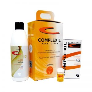 Kit/Tratamiento Complexil Caída C.L. 60 ML + Ampollas FCI 9*8 ML