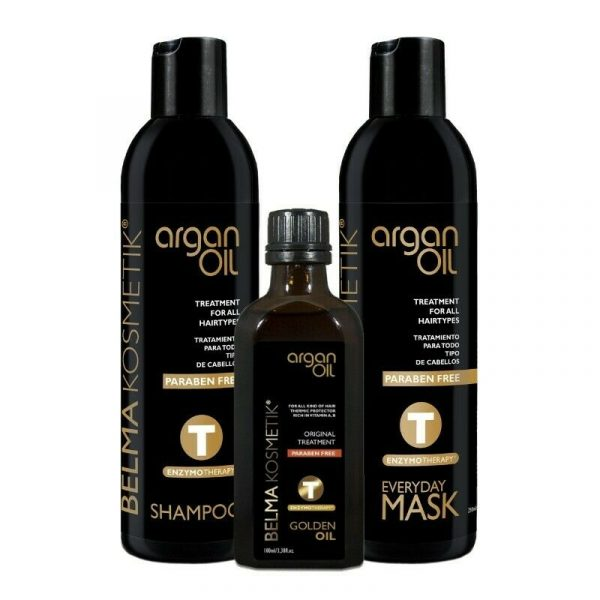 kit argan oil home care belma kosmetik